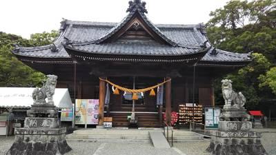 牟呂八幡宮の本殿