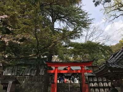 千葉県玉前神社の鳥居