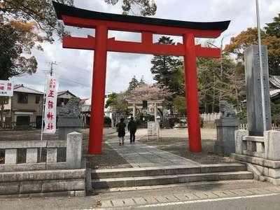 玉前神社の鳥居