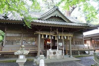 事任八幡宮(静岡県菊川駅) - 本殿・本堂の写真