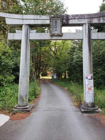 福岡県岩屋神社の本殿