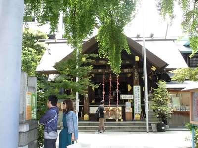 東京都波除稲荷神社の本殿