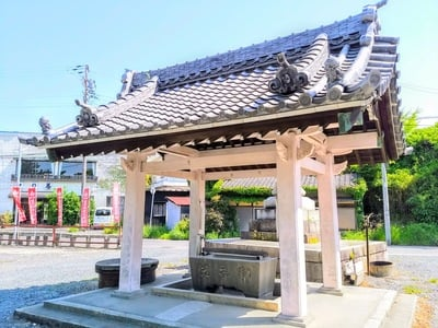 稲荷社(堀田稲荷神社)の手水