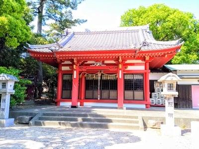 稲荷社(堀田稲荷神社)の本殿