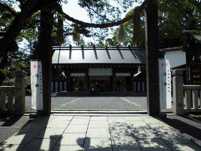 神奈川県伊勢山皇大神宮の鳥居