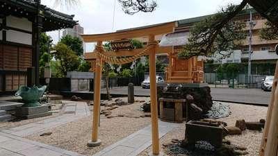 東京都瑞光寺の鳥居