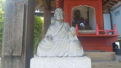 大聖寺の像