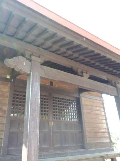 対雁通相馬神社の本殿