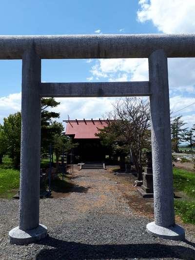 対雁通相馬神社の鳥居