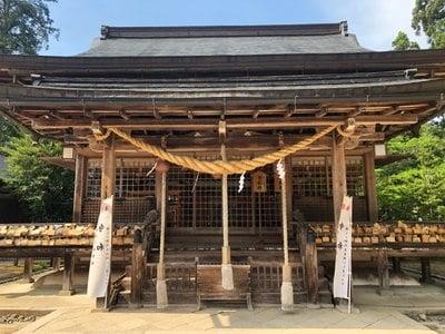 出石神社の本殿