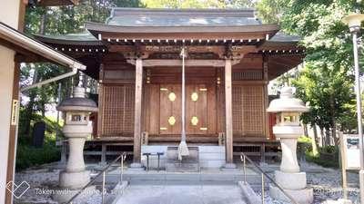 埼玉県日枝神社の本殿