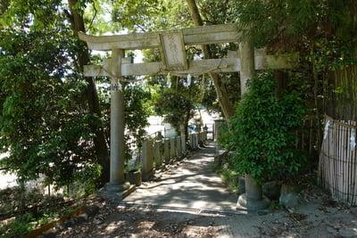 奈良県常陸神社の鳥居