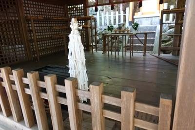 奈良県常陸神社の本殿