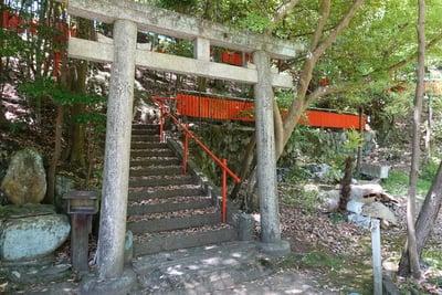 奈良県八峰神社の鳥居