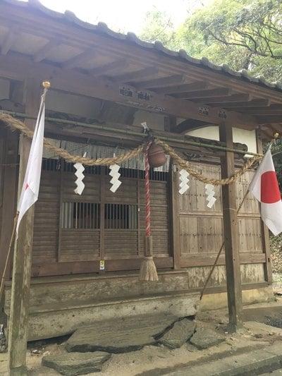 茨城県天志良波神社の本殿