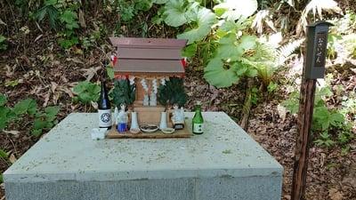 あらはばき神社(奥宮)の末社
