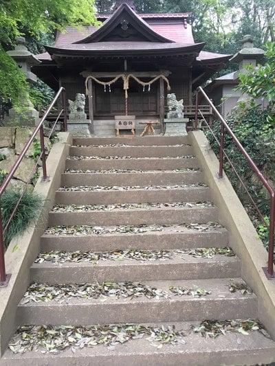 長幡部神社の本殿