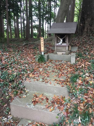 長幡部神社の末社
