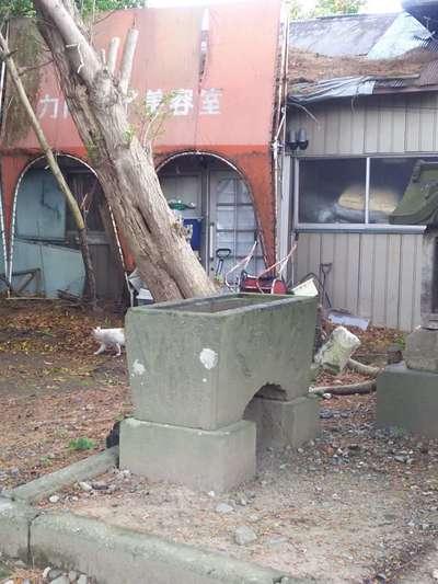 第六天神社の手水