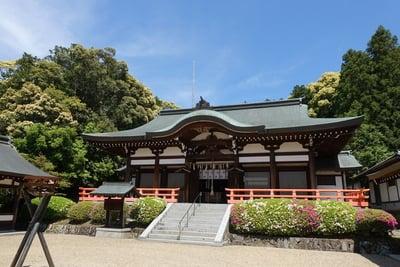 京都府岡田國神社の本殿