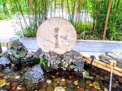 玉鉾神社の手水