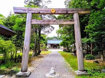 玉鉾神社の鳥居