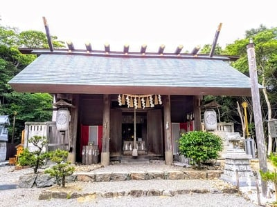 玉鉾神社の本殿