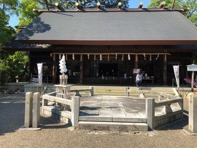 愛知県安久美神戸神明社の本殿