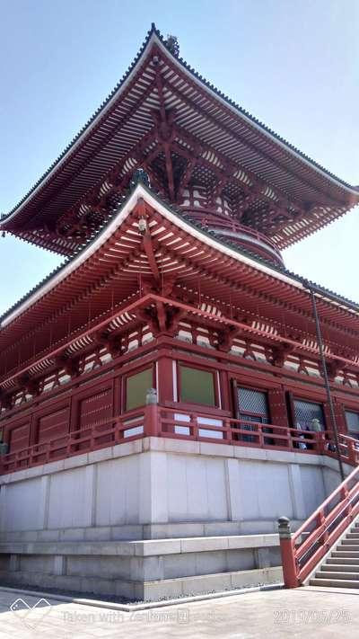 成田山新勝寺(千葉県成田駅) - 塔の写真