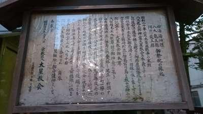 東京都八大龍王社の写真