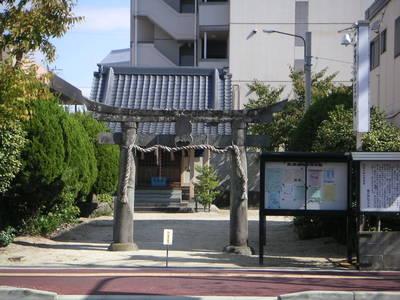 鏑流神社の鳥居