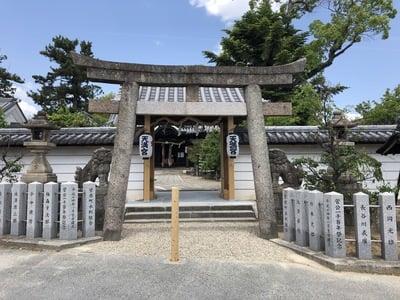奈良県菅原天満宮(菅原神社)の鳥居