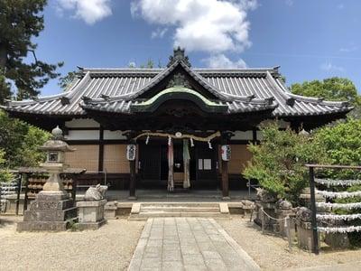 奈良県菅原天満宮(菅原神社)の本殿