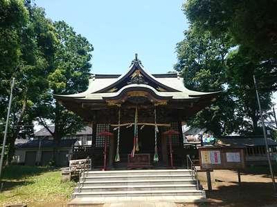 東京都第六天神社の写真