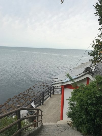 大分県粟島社の写真