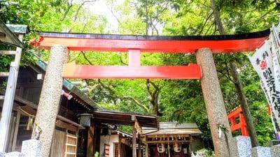 御器所八幡宮(愛知県荒畑駅) - 鳥居の写真