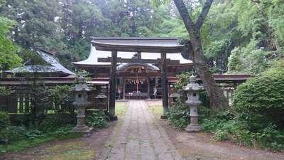 福島県都々古別神社【馬場】の鳥居