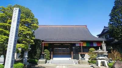 埼玉県瑞光寺の本殿