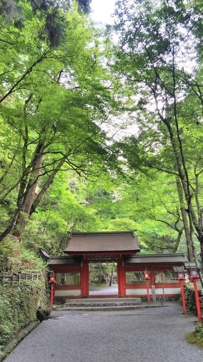 貴船神社(京都府鞍馬駅) - 山門・神門の写真