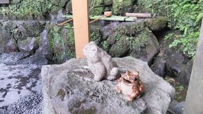 貴船神社(京都府鞍馬駅) - 狛犬の写真
