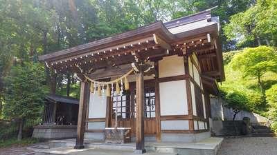 埼玉県本郷氷川神社の本殿