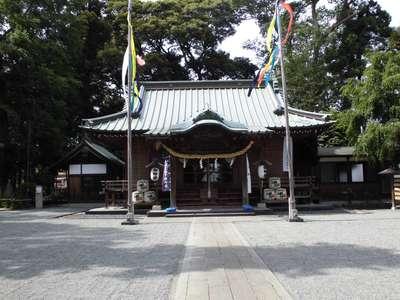 神奈川県深見神社の本殿