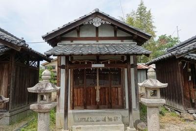 阿久刀神社の末社
