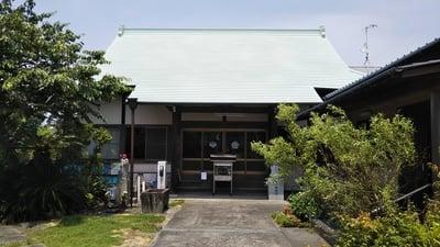 静岡県心月寺の本殿