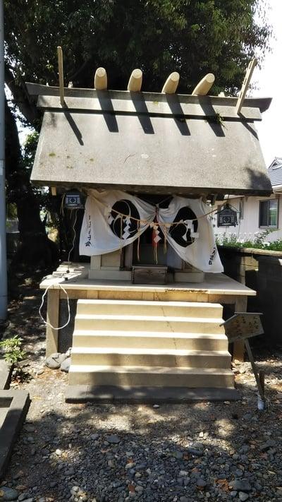 静岡県八幡津島神社の写真