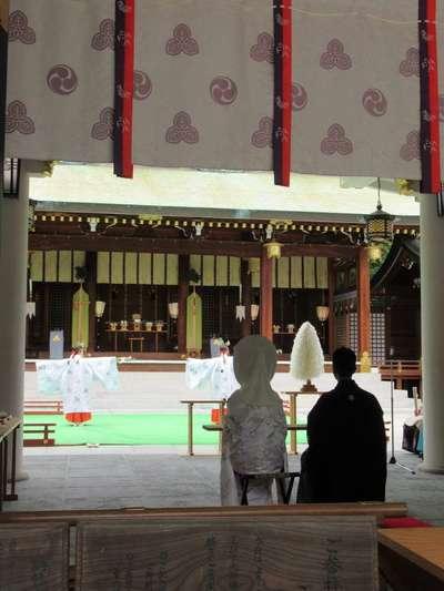 西宮神社(兵庫県西宮(阪神)駅) - 結婚式の写真