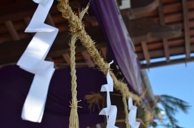 長野県浄土宗善立寺の本殿