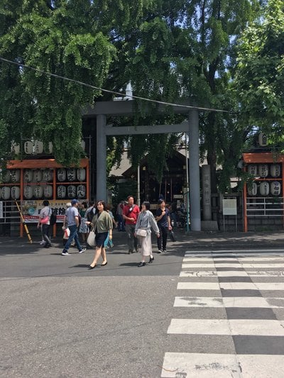 波除稲荷神社(東京都築地市場駅) - 周辺の写真
