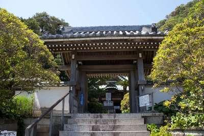 安養院田代寺の山門