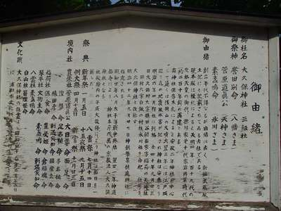 大久保神社の歴史